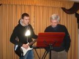 Андрей Белый(слева)@о.Александр Савичев
